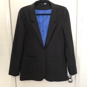 Black suit blazer H&M